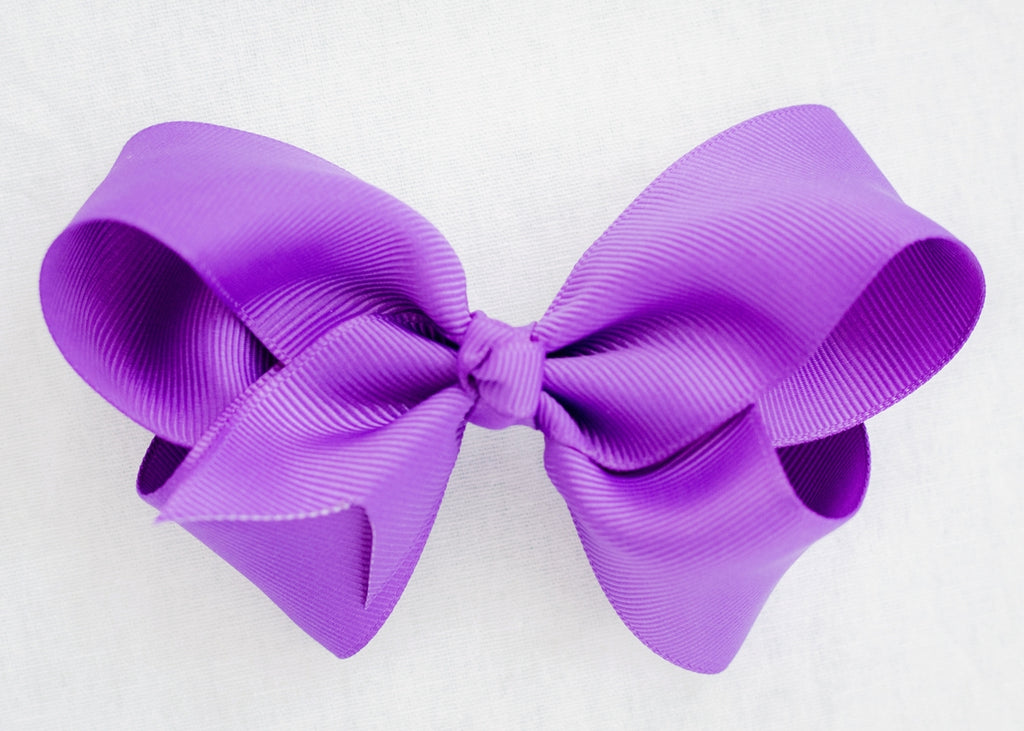BRIGHT PURPLE BOW