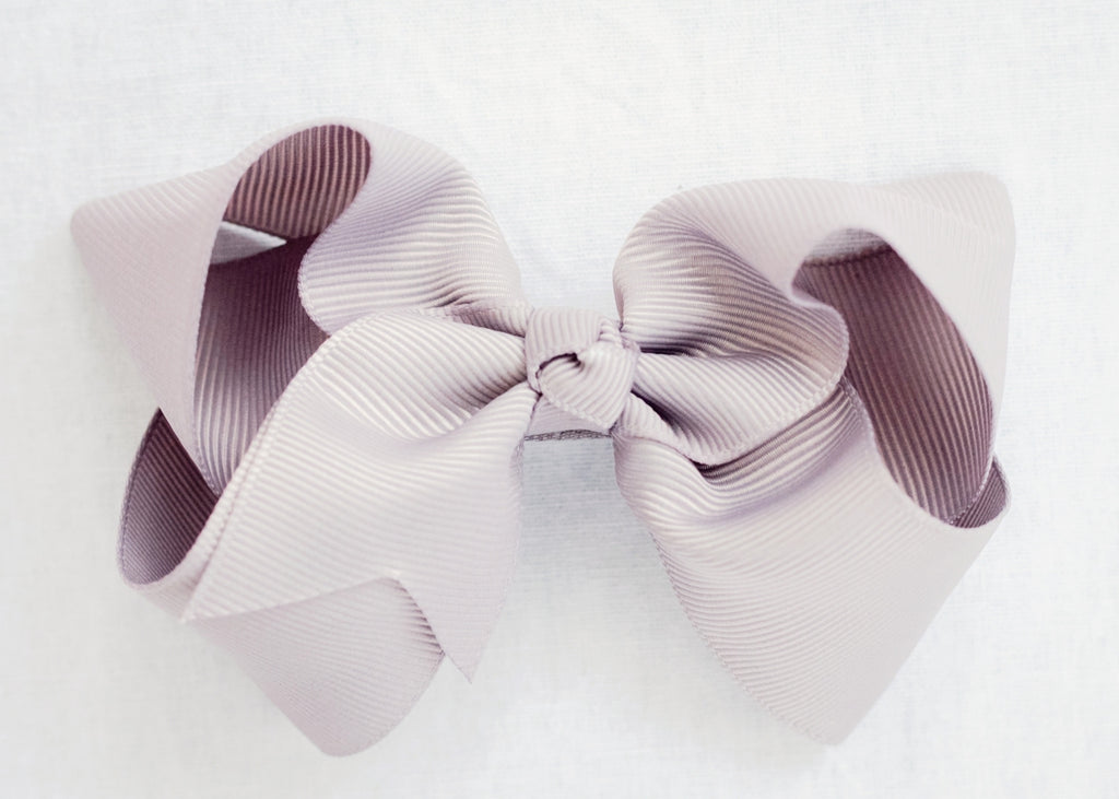 DOVE GREY BOW