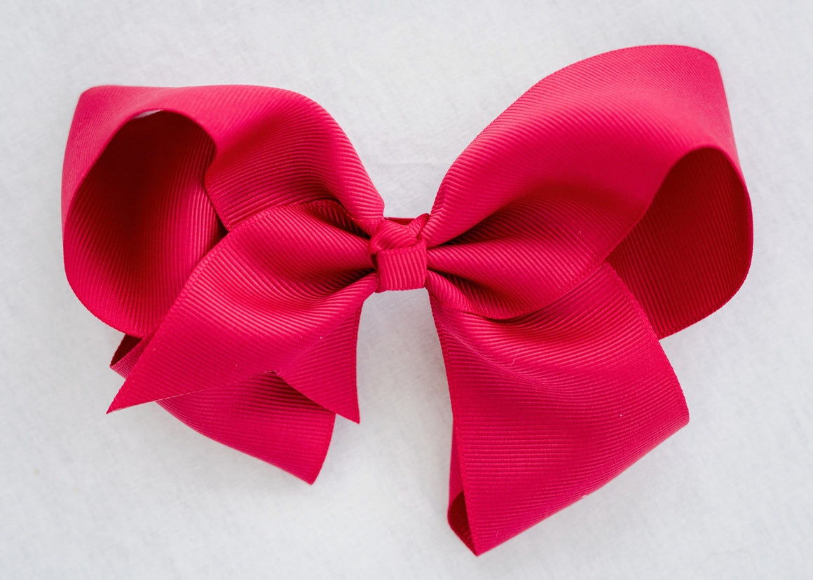 BERRY PINK BOW