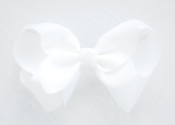 CLASSIC WHITE BOW