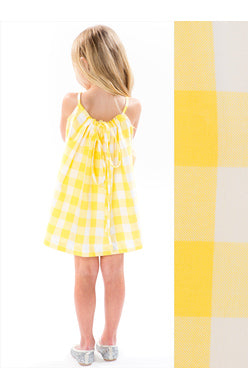 BUTTERCUP GINGHAM BEACHIE