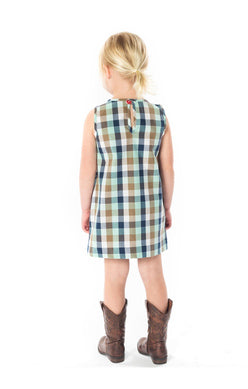 AQUA PLAID TUNI