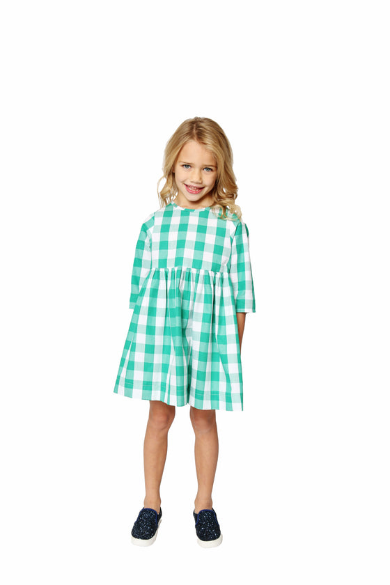 FOREST GREEN BUFFALO CHECK WINNIE