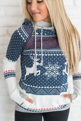 Winter Wonderland Double Hood Sweatshirt