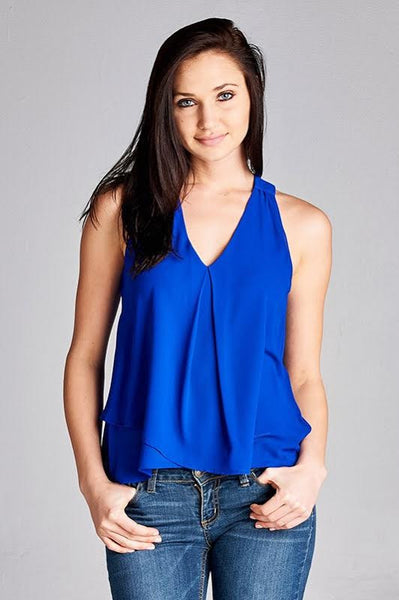 Cool in Cobalt Top
