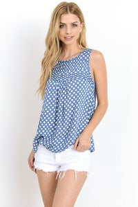 Perfect polka dots tank