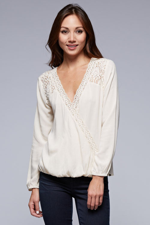 Vanilla Cream Blouse