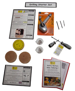 Drilling starter set (without clamp board)