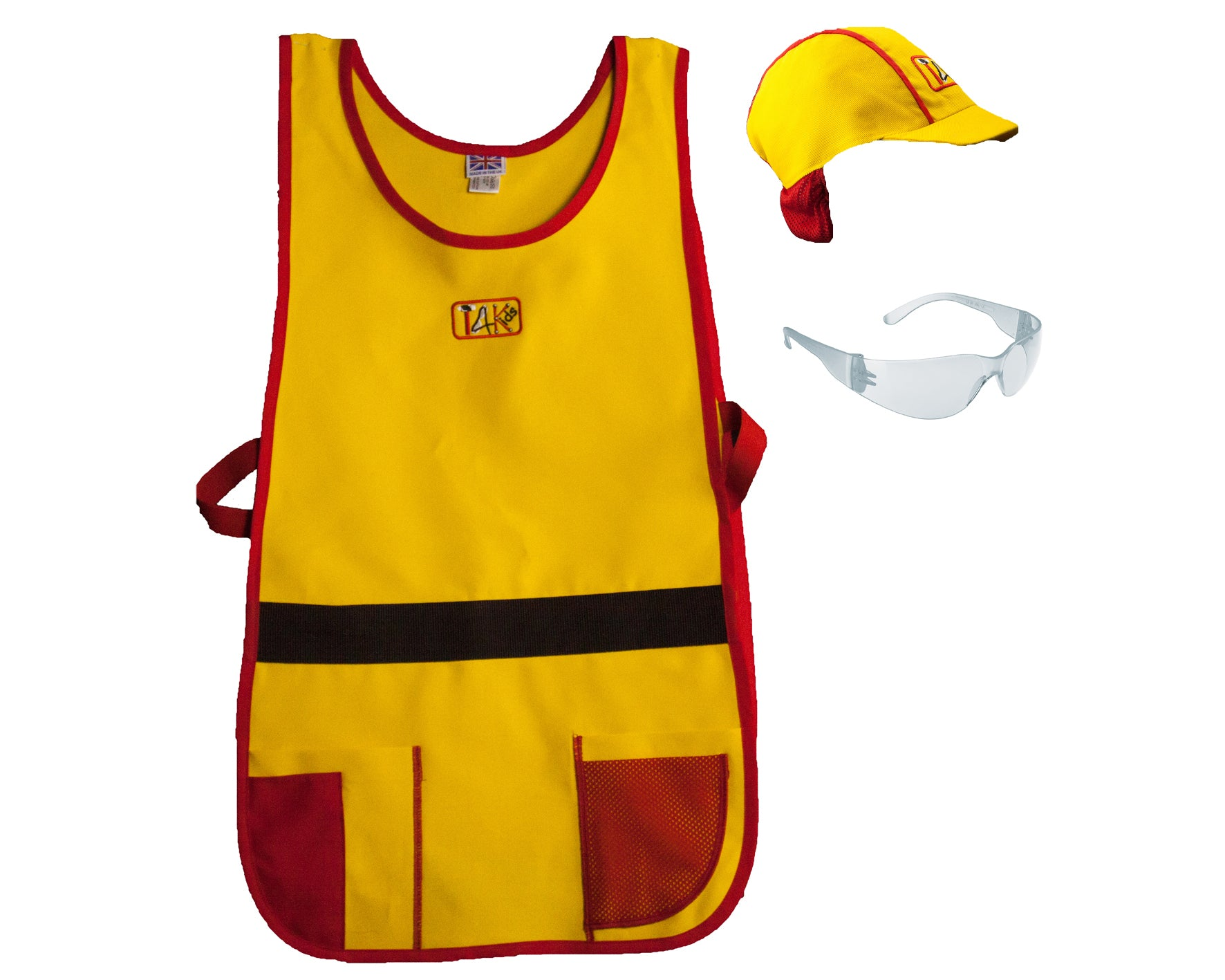 Tinkering workwear set® - Child size (with safety glasses)