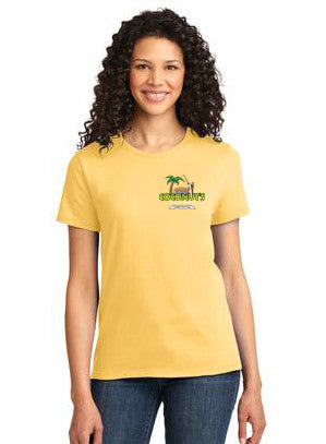 Coconut's Fish Cafe Ladies Imprinted T-Shirt