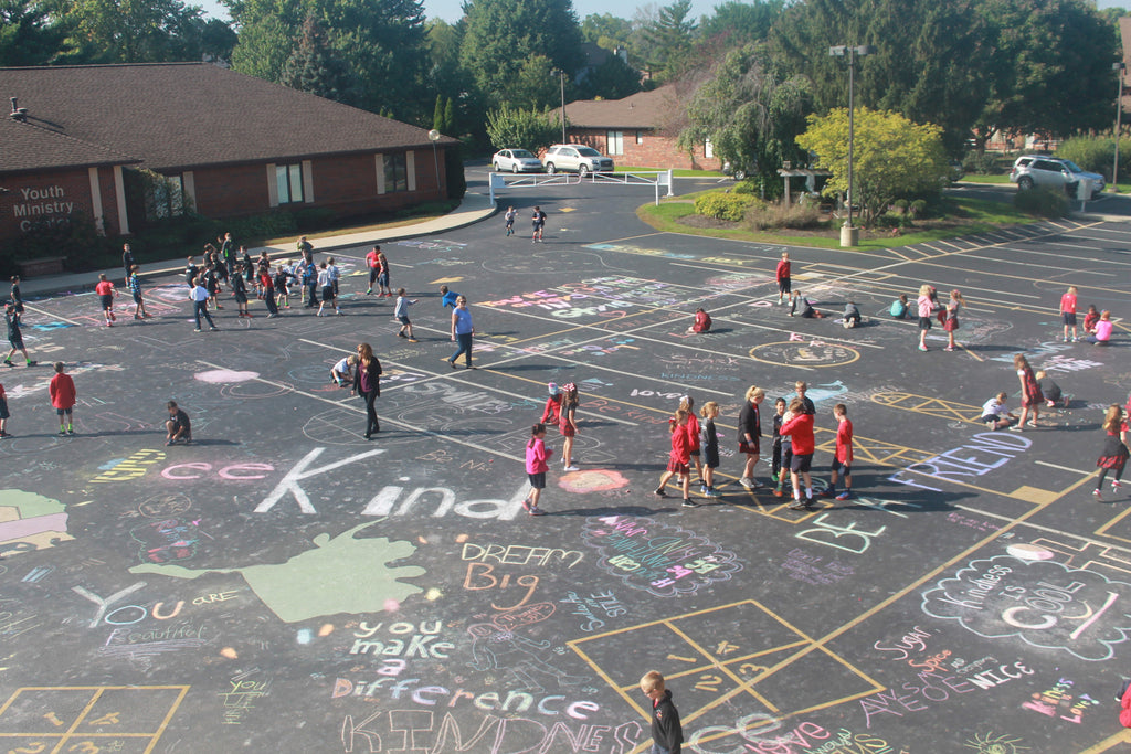 MST participates in Kindness in Chalk 2016