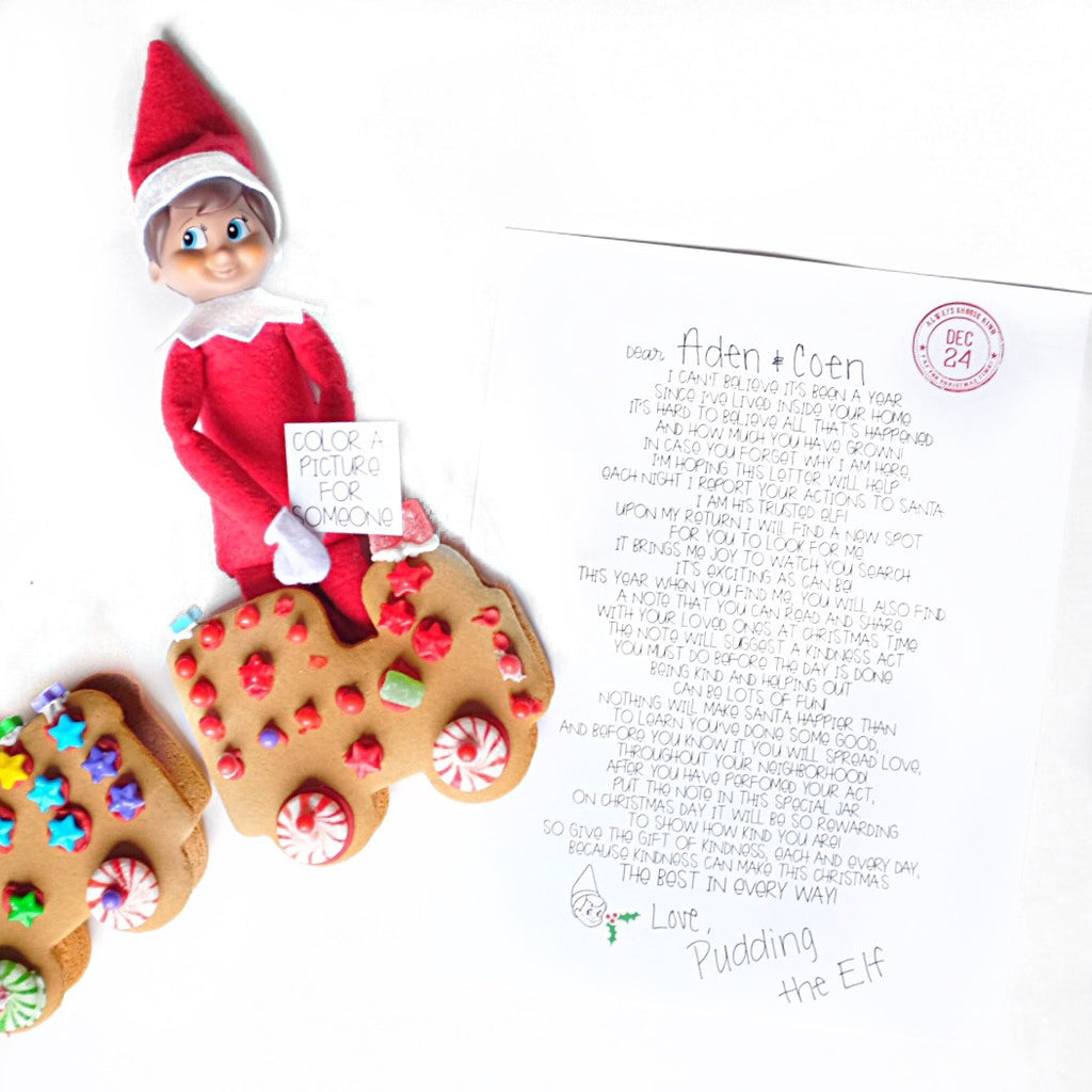 Elf on the Shelf - Kindness Challenge