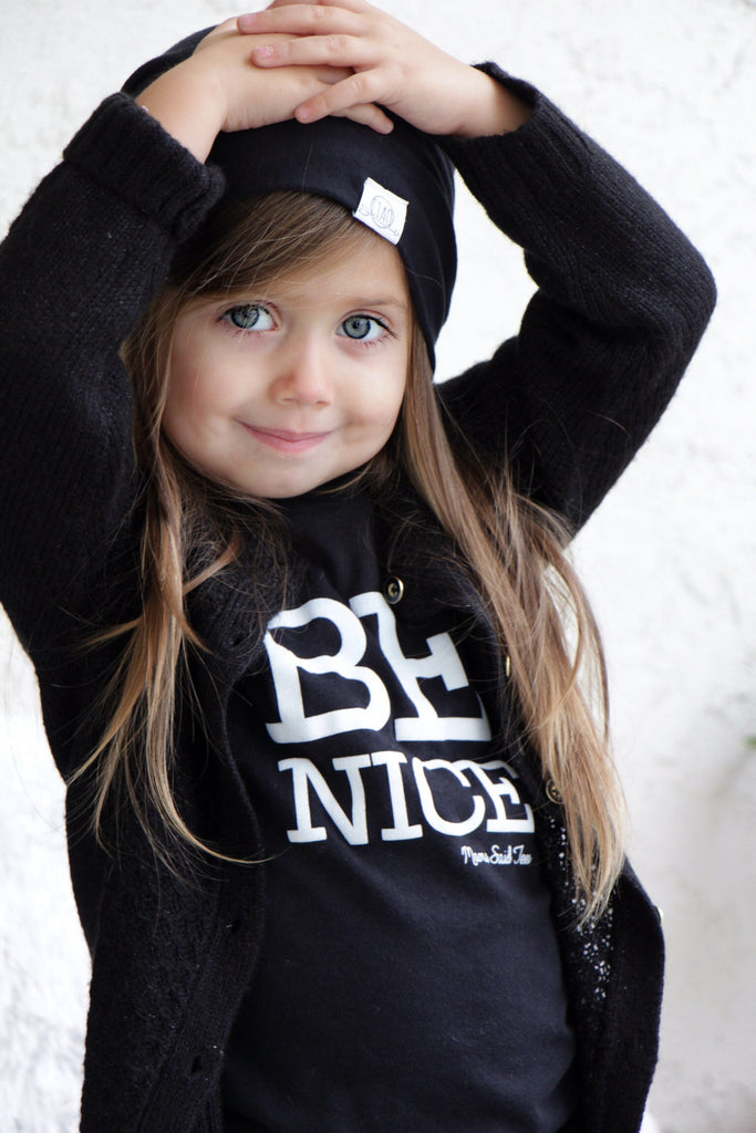 BE NICE KIDS T-SHIRT