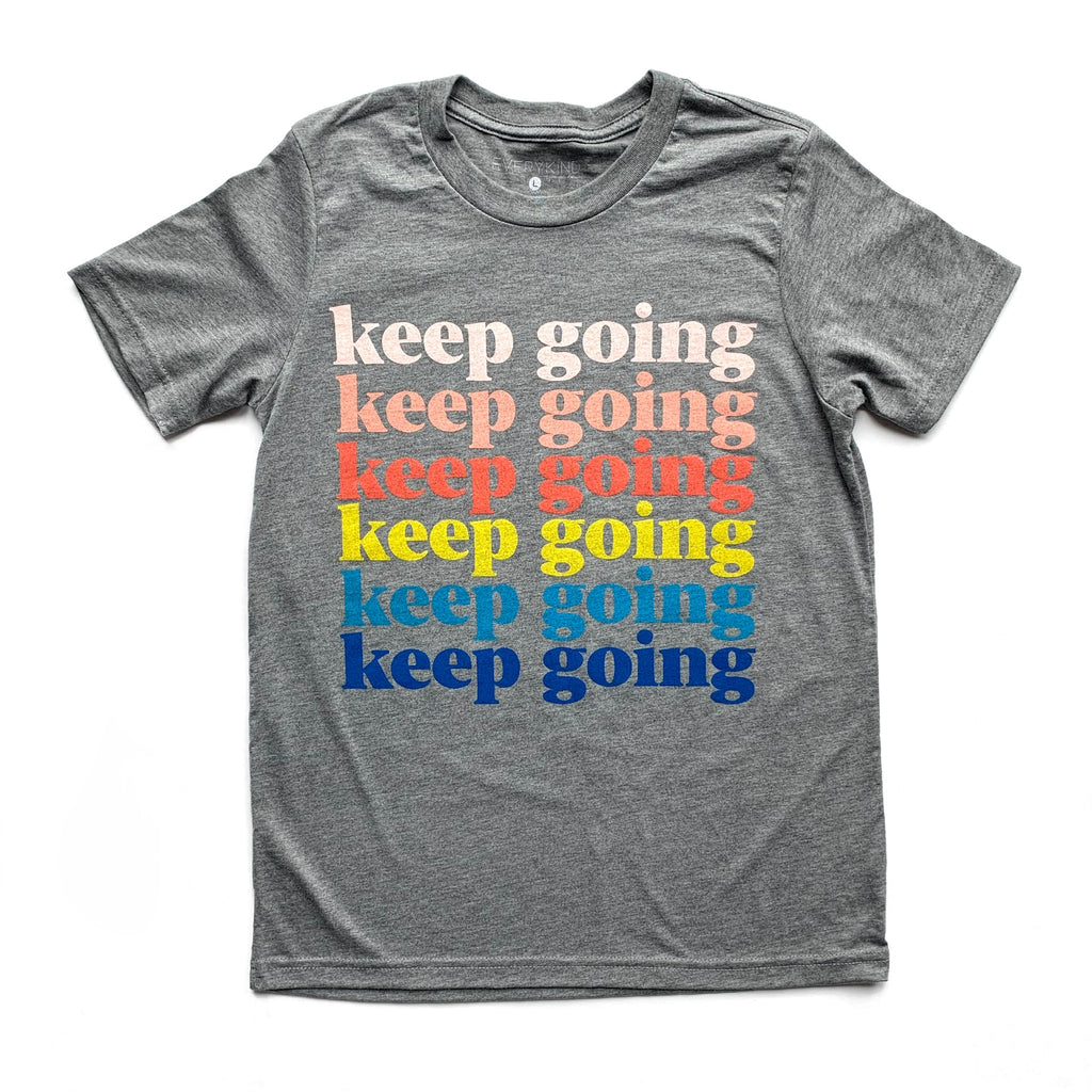 KEEP GOING KID & YOUTH T-SHIRT