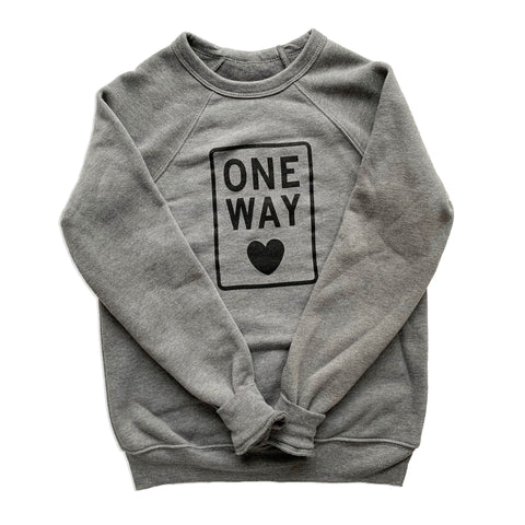 ONE WAY KIDS SWEATSHIRT