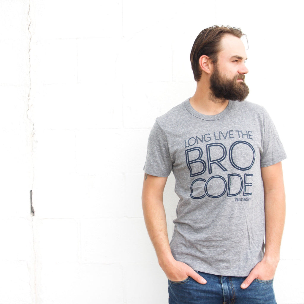 LONG LIVE THE BRO CODE ADULT GRAPHIC T-SHIRT BY EVERYKIND