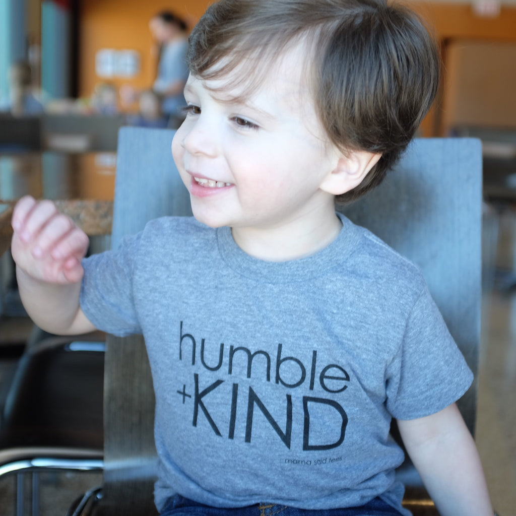 HUMBLE + KIND KID KIDS GRAPHIC T-SHIRT BY EVERYKIND