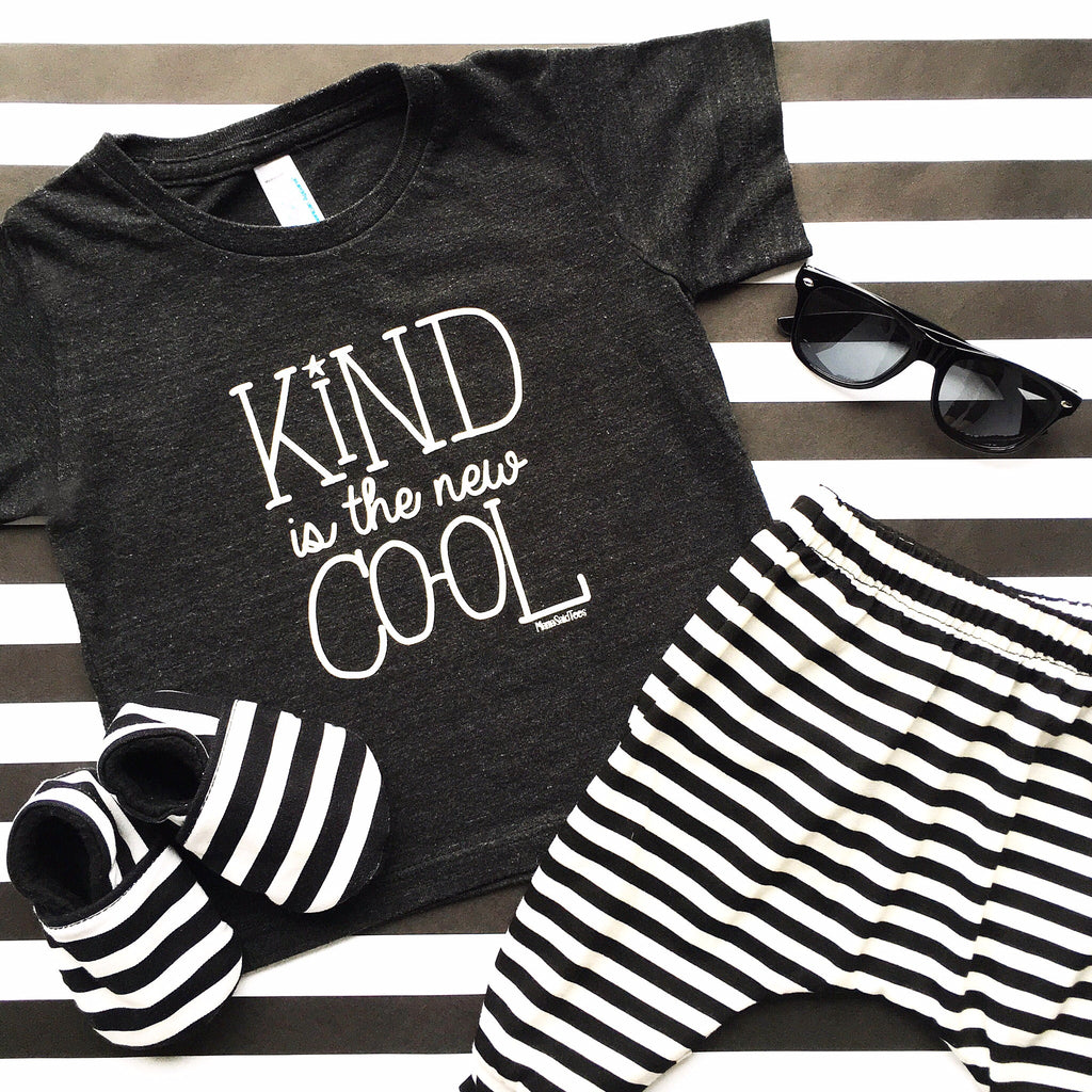KIND IS THE NEW COOL KIDS T-SHIRT - Mama Said Tees