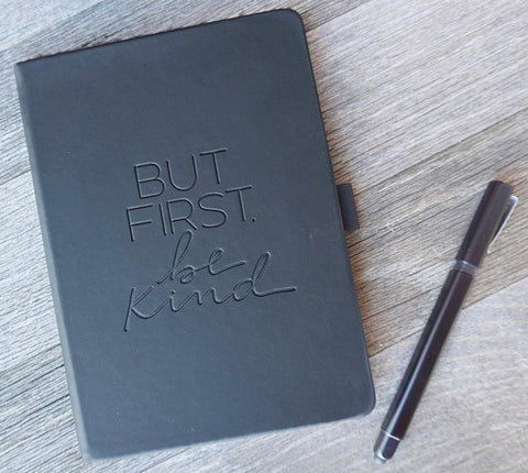 But First, Be Kind Journal/Card Pack
