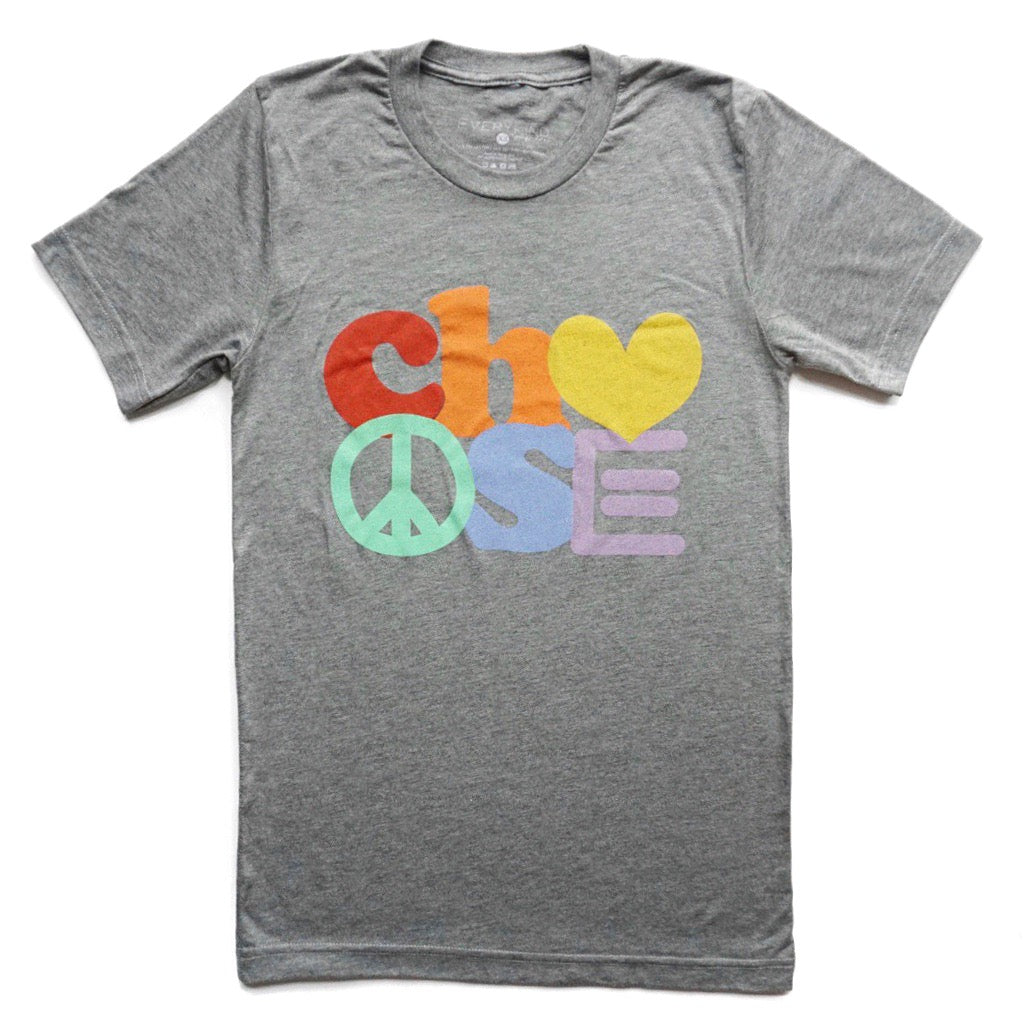 Choose Adult Crew Neck T-Shirt - EVERYKIND