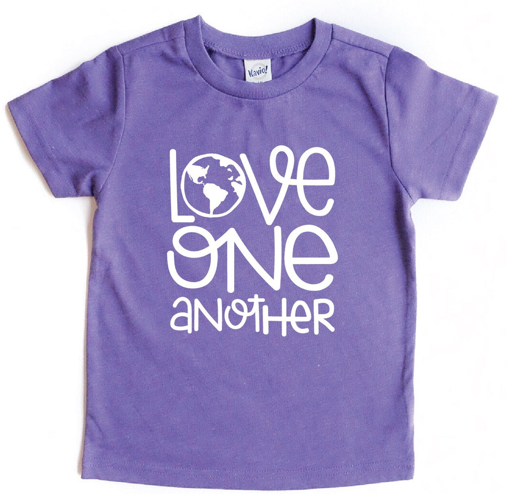 LOVE ONE ANOTHER KIDS GRAPHIC T-SHIRT BY EVERYKIND