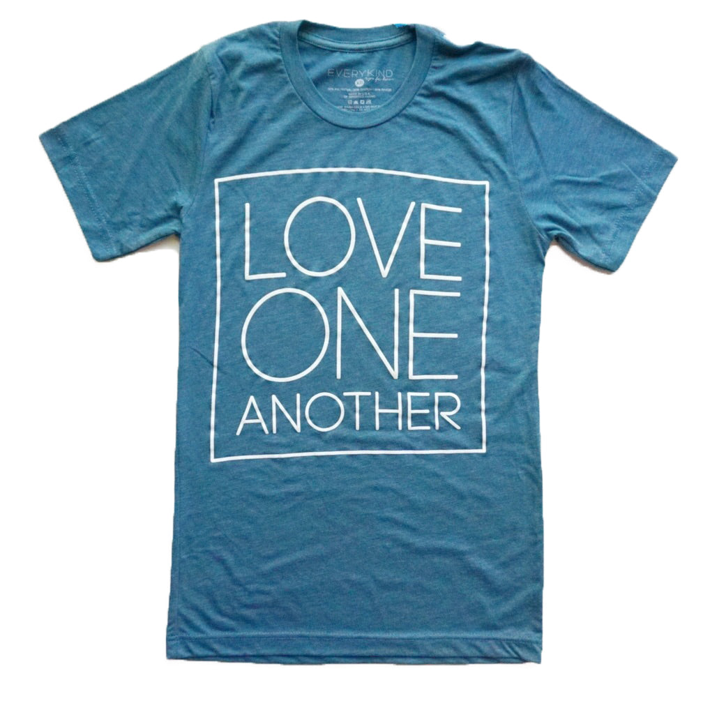 LOVE ONE ANOTHER ADULT T-SHIRT