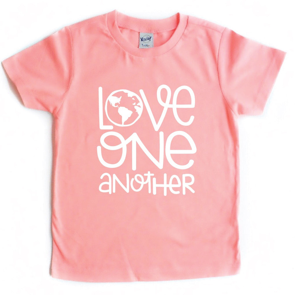 LOVE ONE ANOTHR KIDS GRAPHIC T-SHIRT BY EVERYKIND