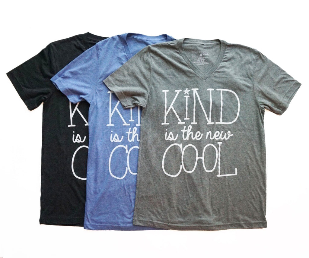 Kind is the New Cool Adult Graphic T-Shirt by EVERYKIND