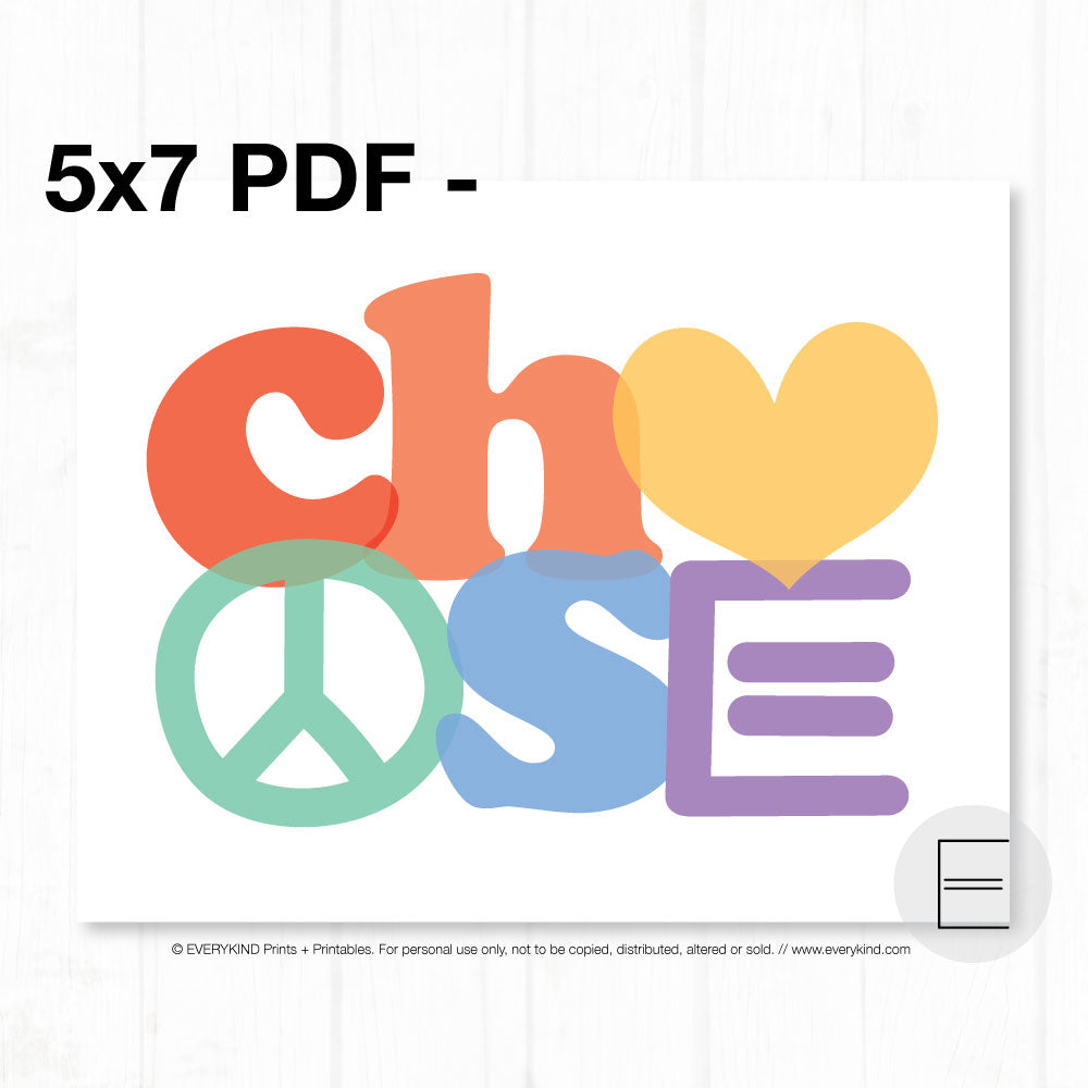 CHOOSE PDF BY EVERYKIND