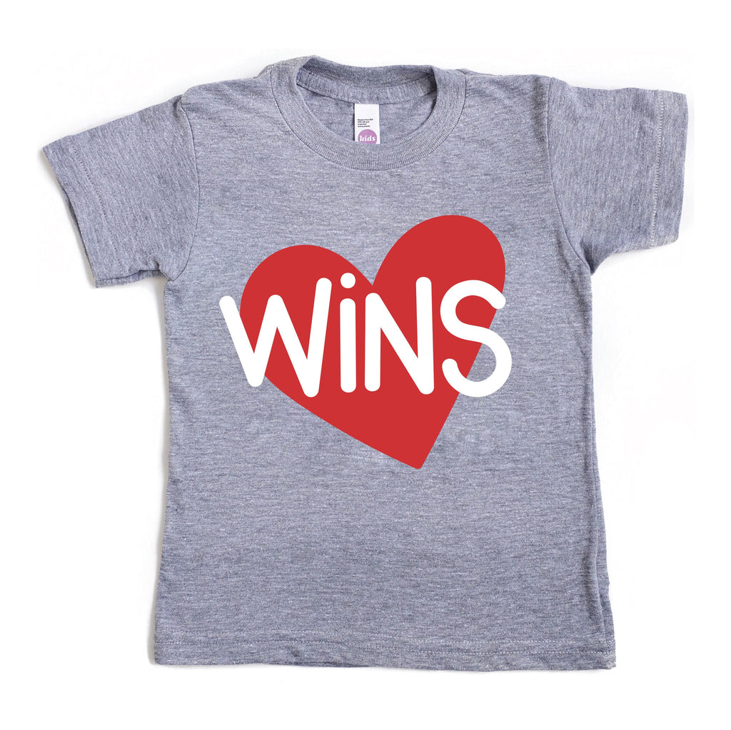 LOVE WINS KIDS GRAPHIC T-SHIRT BY EVERYKIND