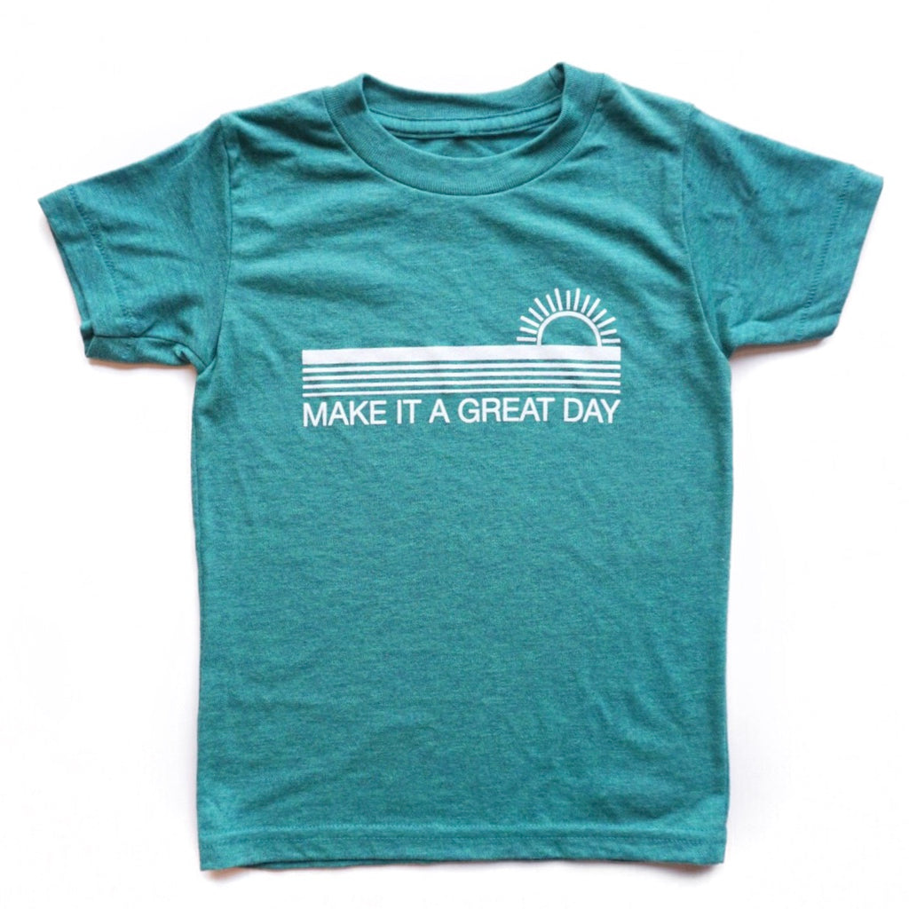 MAKE IT A GREAT DAY KID T-SHIRT/TANK TOP