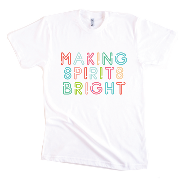 MAKING SPIRITS BRIGHT KID TEE