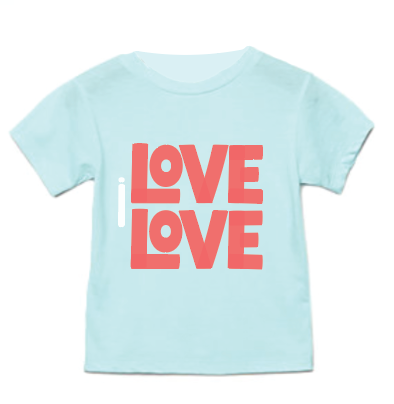 I LOVE LOVE KIDS T-SHIRT