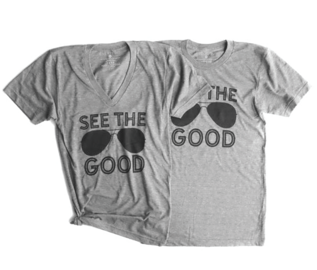 SEE THE GOOD ADULT GRAPIC T-SHIRT BY EVERYKIND