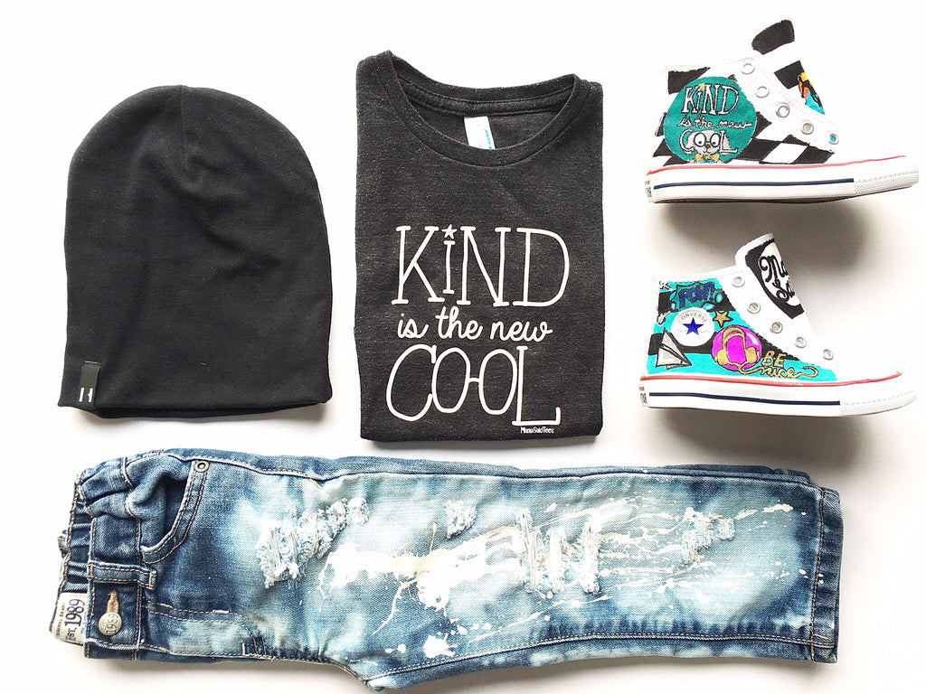 KIND IS THE NEW COOL KIDS GRAPHIC TEE BY EVERYKIND