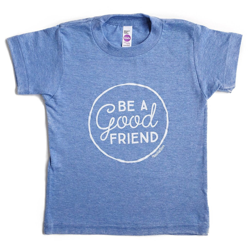 Be a good friend kids graphic tee by EVERYKIND