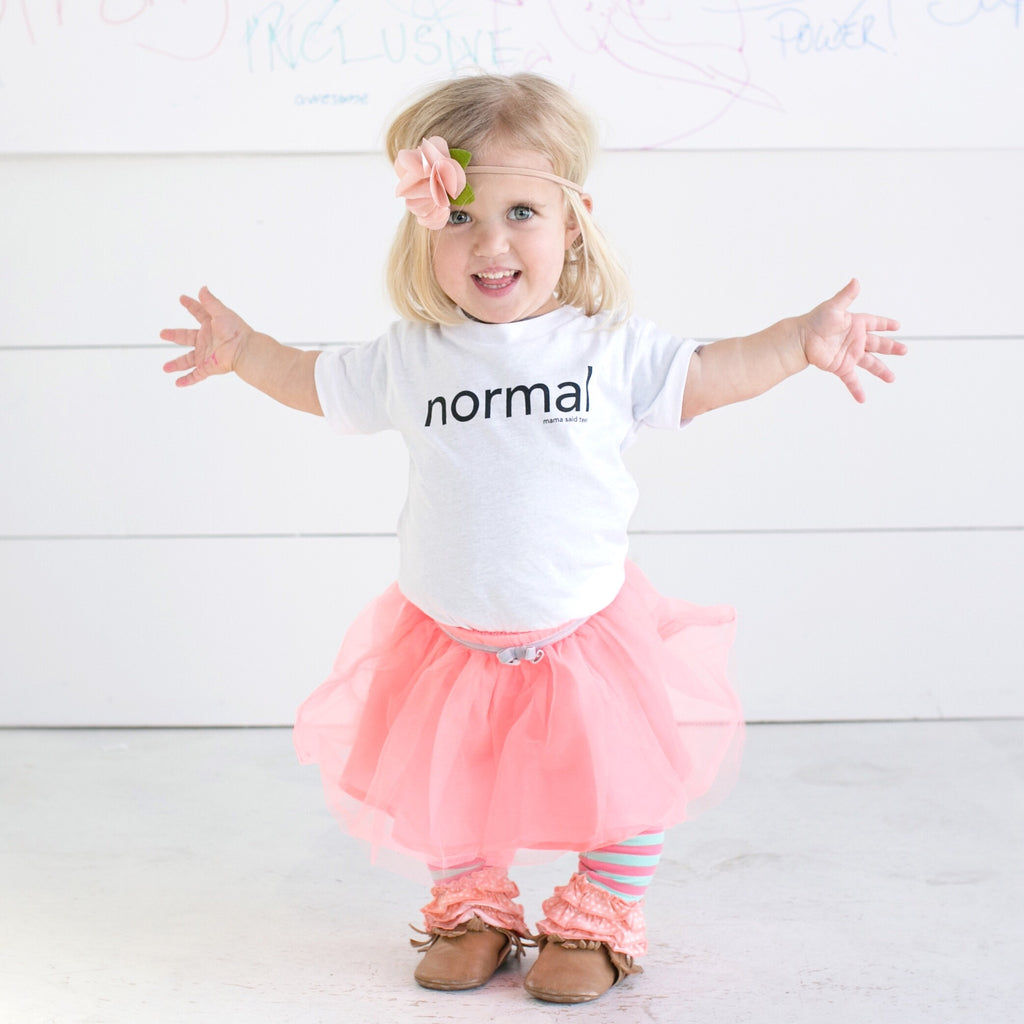 NORMAL KIDS GRAPHIC T-SHIRT BY EVERYKIND
