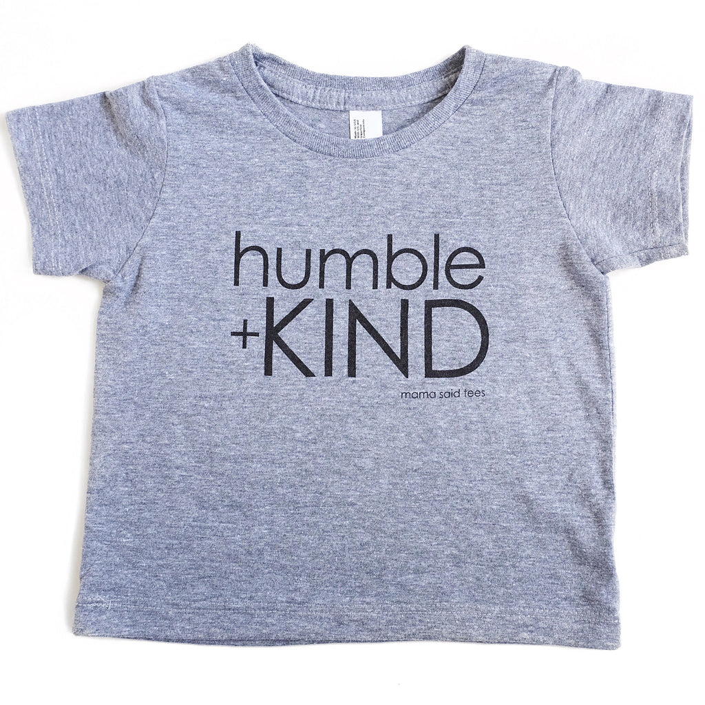 HUMBLE + KIND KIDS GRAPHIC T-SHIRT BY EVERYKIND