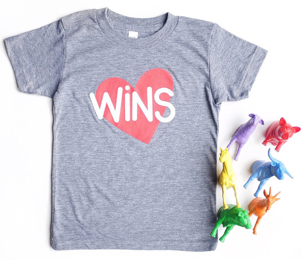 LOVE WINS KIDS T-SHIRT