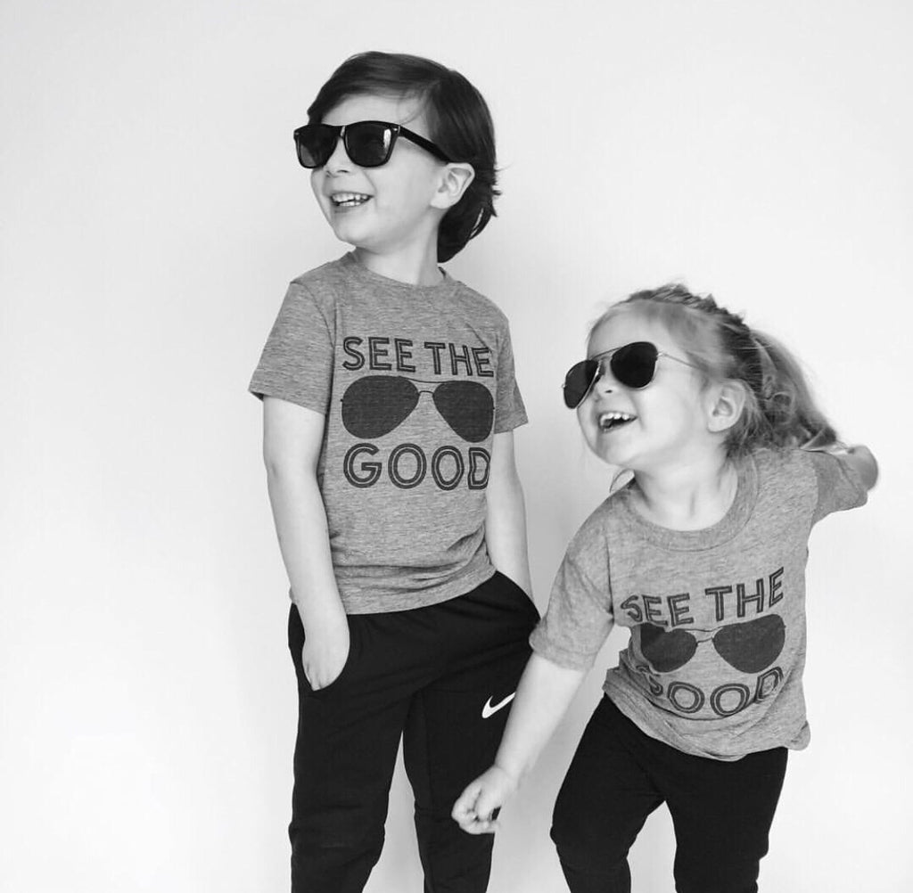 SEE THE GOOD KIDS T-SHIRT