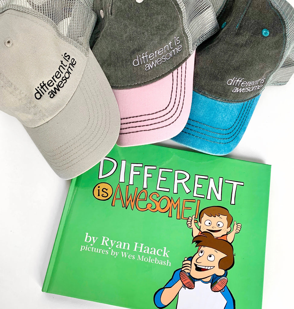 DIFFERENT IS AWESOME COLLABORATION - Ryan Haack x EVERYKIND