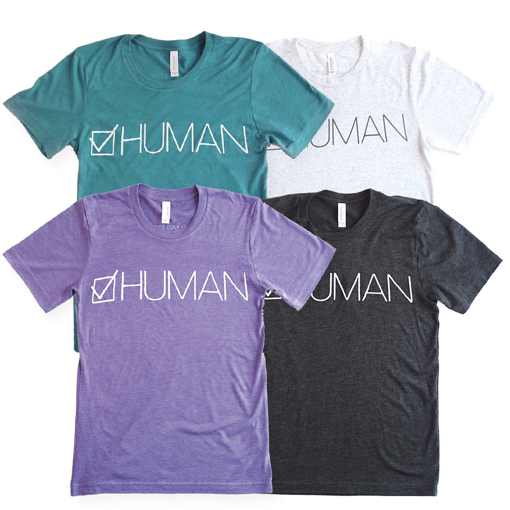 HUMAN ADULT GRAPHIC T-SHIRT BY EVERYKIND
