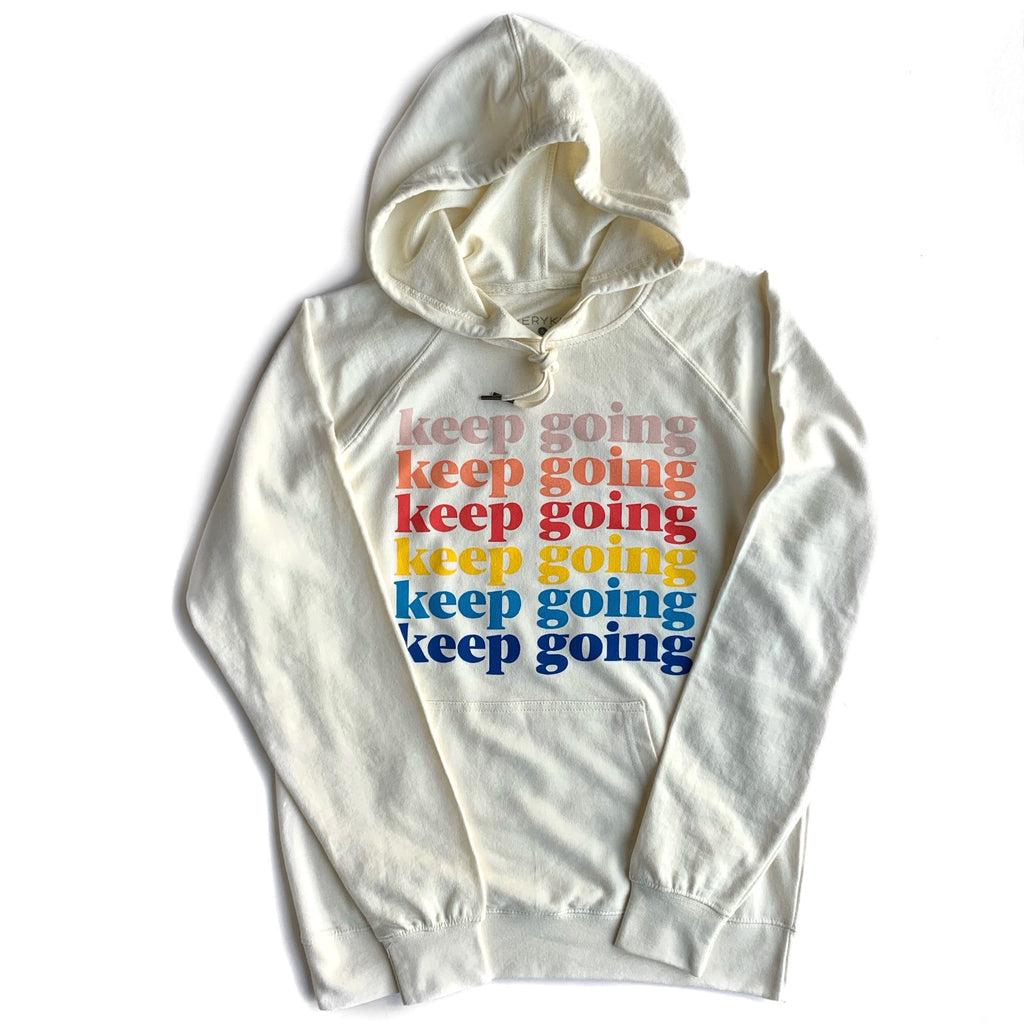 KEEP GOING ADULT SWEATSHIRT