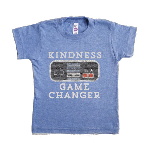 KINDNESS IS A GAME CHANGER KIDS T-SHIRT