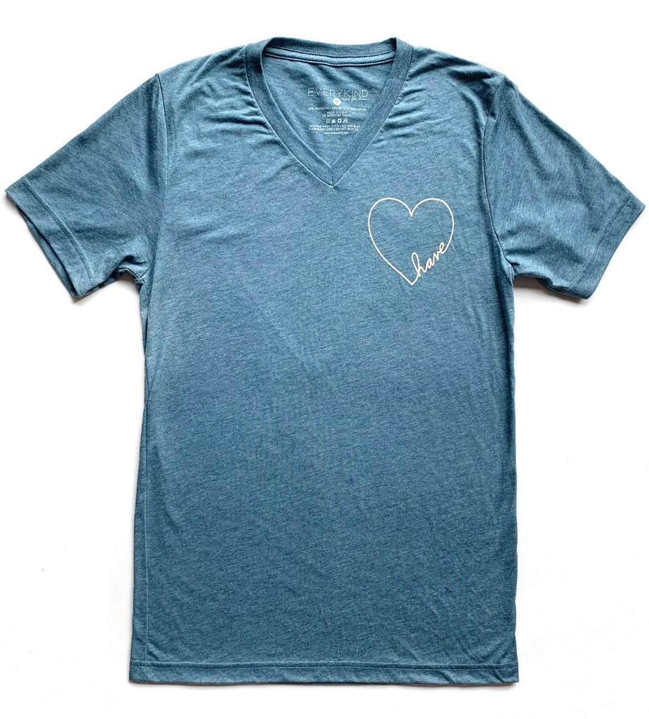 HAVE HEART ADULT T-SHIRT