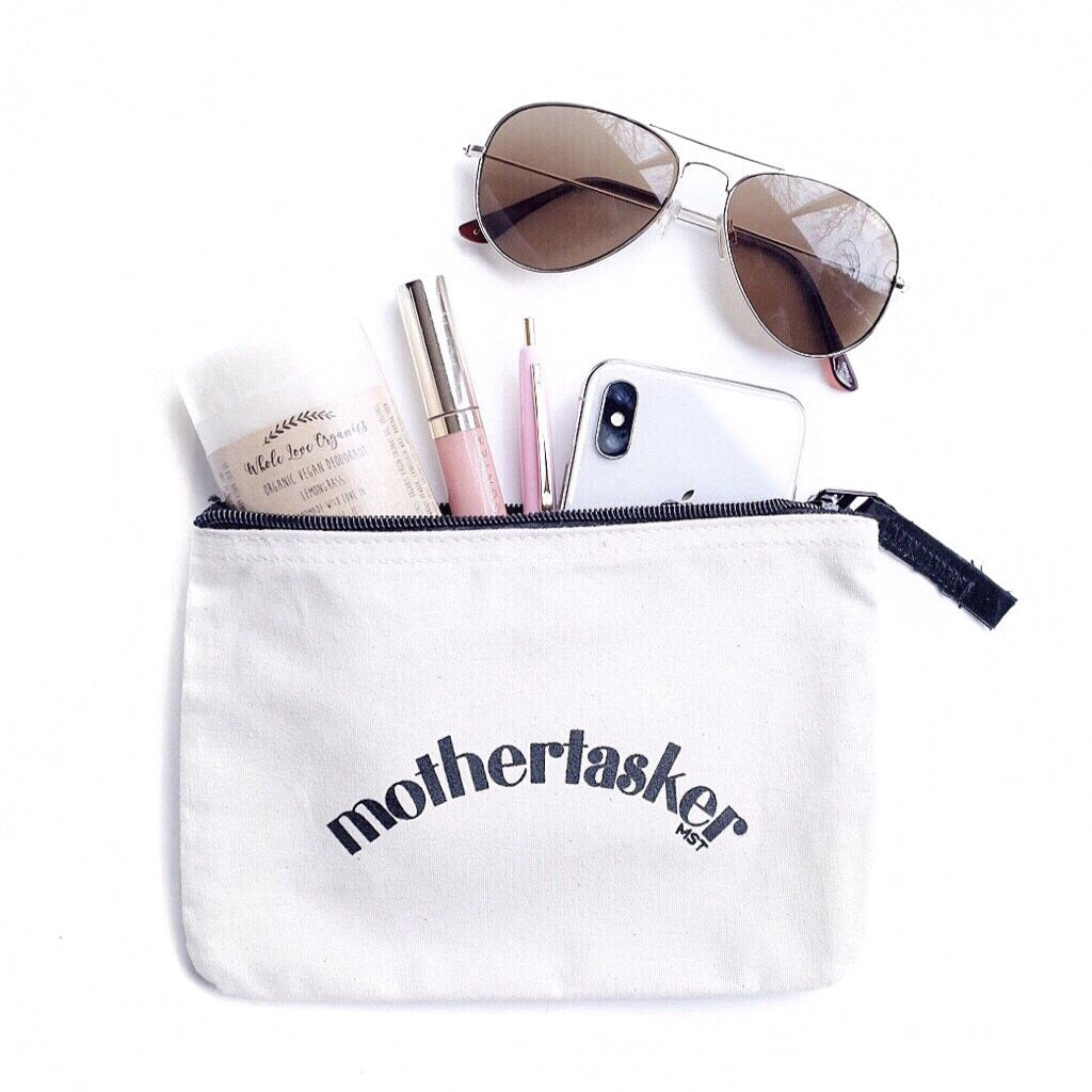 MOTHERTASKER ZIPPER POUCH BY EVERYKIND