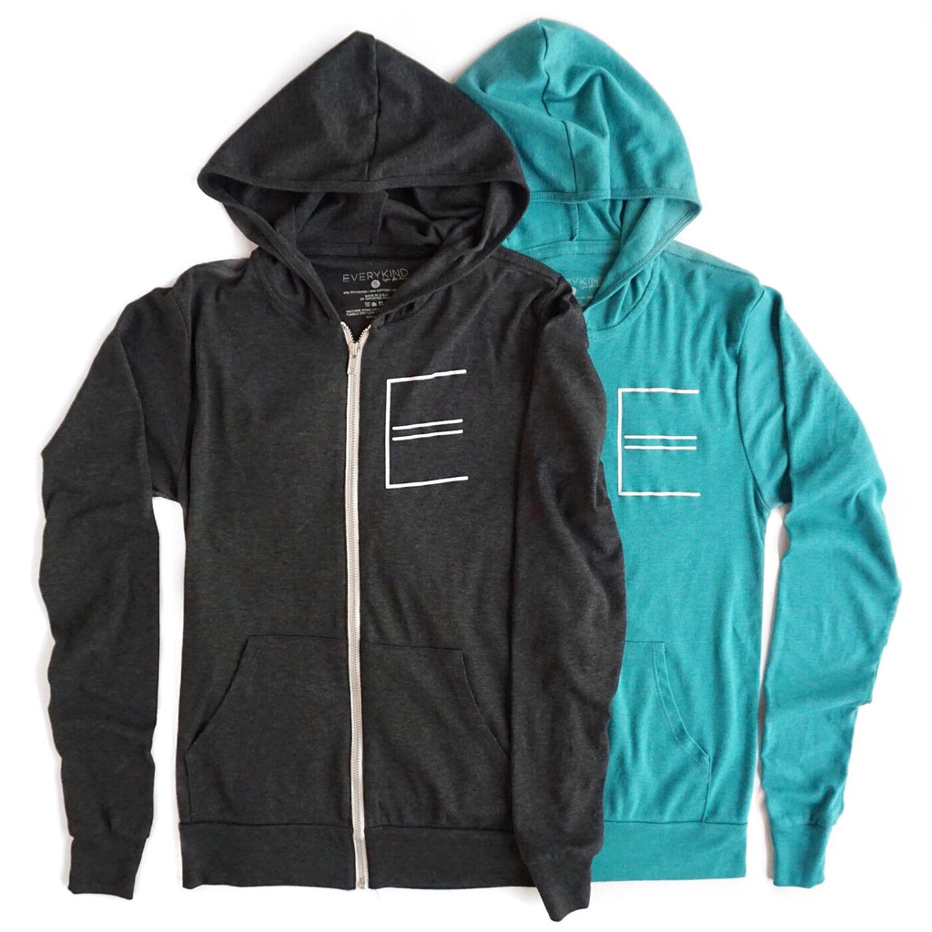 EVERYKIND ADULT ZIP HOODIE BY EVERYKIND