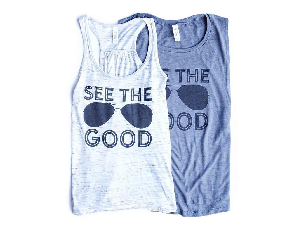 SEE THE GOOD ADULT TANK TOP