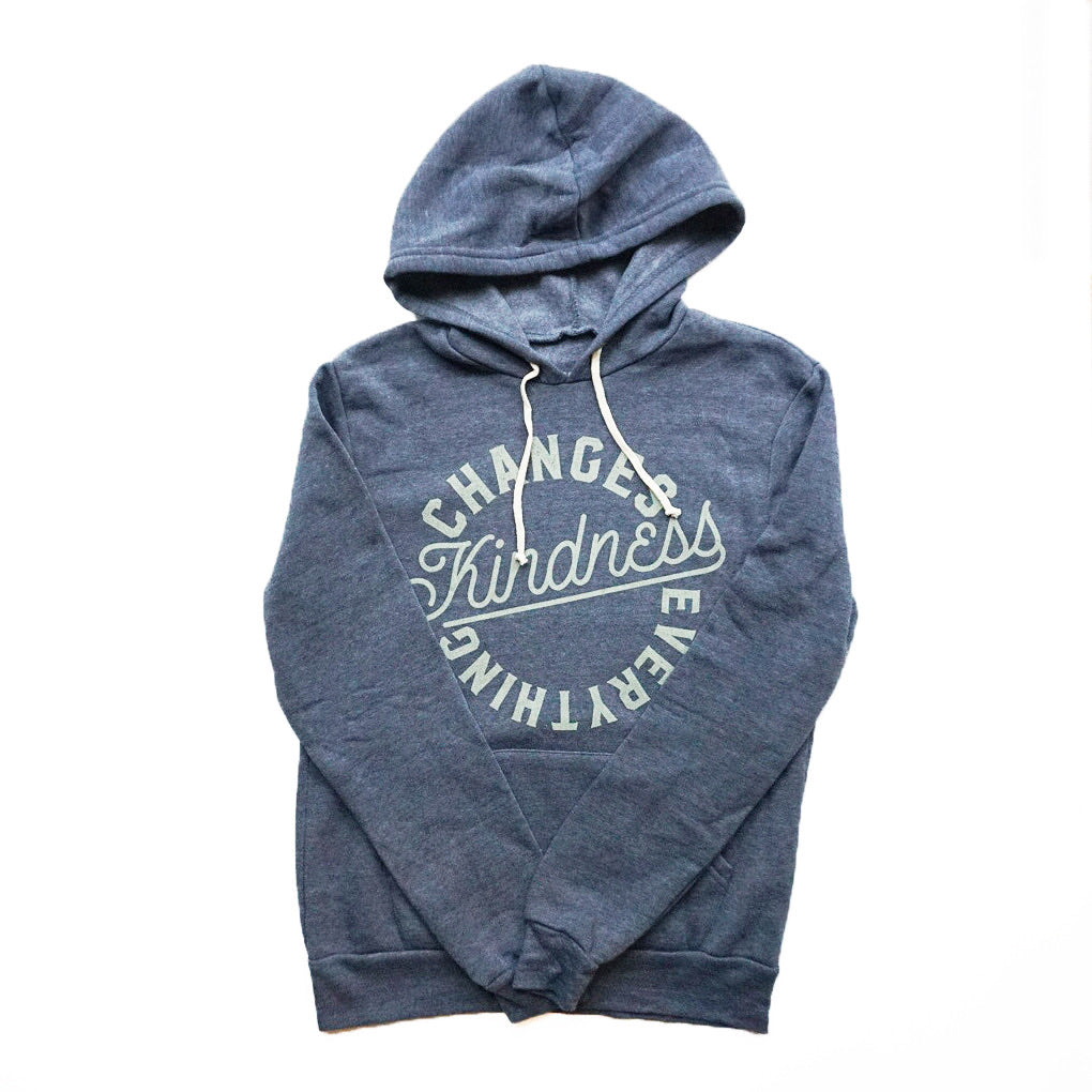 KINDNESS CHANGES EVERYTHING ADULT HOODIE