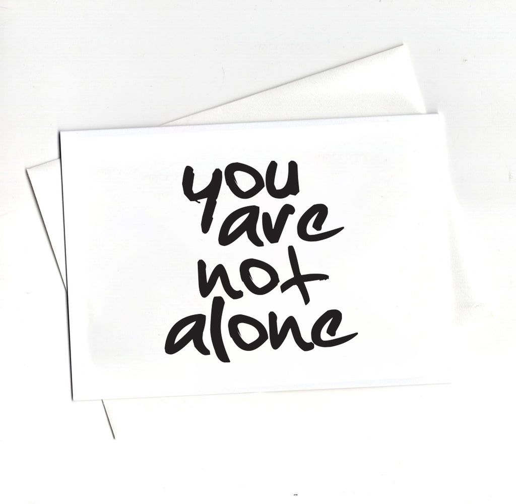 YOU ARE NOT ALONE CARD PACK